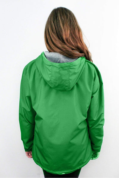Charles River Women's Chatham Anorak Solid Pullover, Kelly Green *Customizable! (Wholesale Pricing N/A)