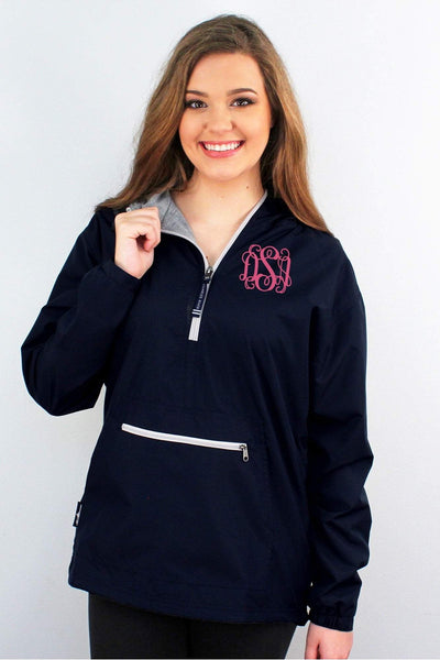 Charles River Women's Chatham Anorak Solid Pullover, Navy #5809 *Customizable!  (Wholesale Pricing N/A) (PLEASE ALLOW 3-5 BUSINESS DAYS. EXPEDITED SHIPPING N/A)