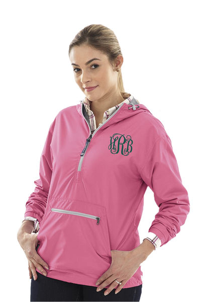 Charles River Women's Chatham Anorak Solid Pullover, Neon Pink #5809 *Customizable!  (Wholesale Pricing N/A) (PLEASE ALLOW 3-5 BUSINESS DAYS. EXPEDITED SHIPPING N/A) - Wholesale Accessory Market