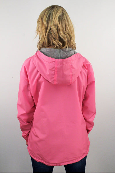 Charles River Women's Chatham Anorak Solid Pullover, Neon Pink #5809 *Customizable!  (Wholesale Pricing N/A) (PLEASE ALLOW 3-5 BUSINESS DAYS. EXPEDITED SHIPPING N/A)