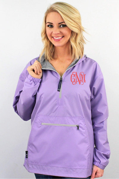 Charles River Women's Chatham Anorak Solid Pullover, Lilac #5809 *Customizable!  (Wholesale Pricing N/A) (PLEASE ALLOW 3-5 BUSINESS DAYS. EXPEDITED SHIPPING N/A)