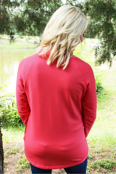 Charles River Women's Salmon Falmouth Pullover *Personalize It! (Wholesale Pricing N/A)