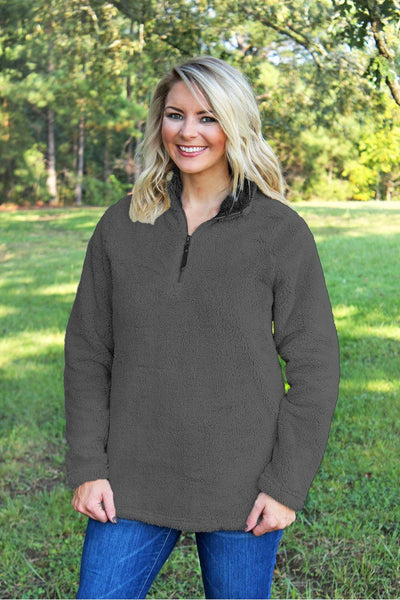 Charles River Women's Charcoal Newport Fleece *Personalize It! (Wholesale Pricing N/A)