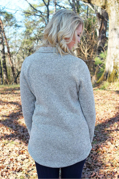 Charles River Women's Hingham Tunic, Light Gray Heather *Personalize It! (Wholesale Pricing N/A)