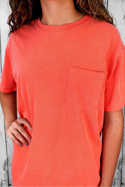 Comfort Colors Adult Ring-Spun Cotton Pocket Tee #6030
