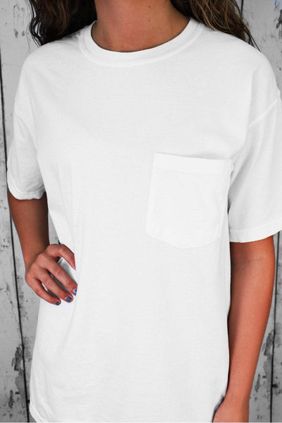Comfort Colors Adult Ring-Spun Cotton Pocket Tee