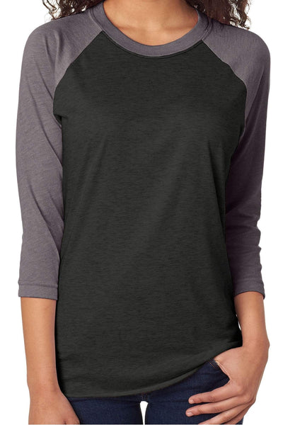 Team Name Tri-Blend Unisex 3/4 Raglan *Personalize Your Text and Colors (Wholesale Pricing N/A)