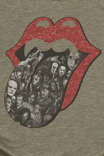 Scary Tongue Poly/Cotton Tee