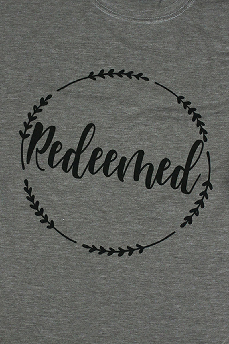 Redeemed Wreath Poly/Cotton Tee
