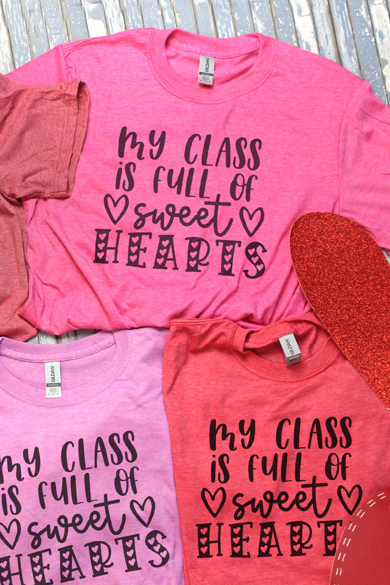 My Class Is Full Of Sweethearts Softstyle Adult T-Shirt