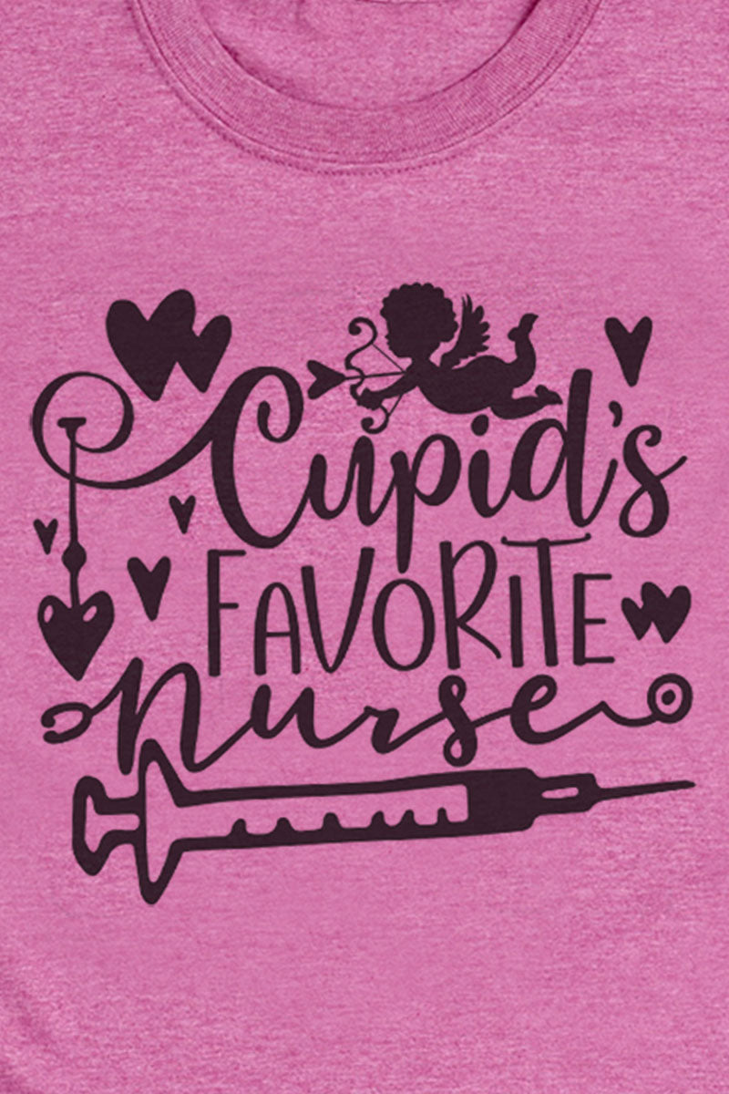 Cupid's Favorite Nurse Softstyle Adult T-Shirt