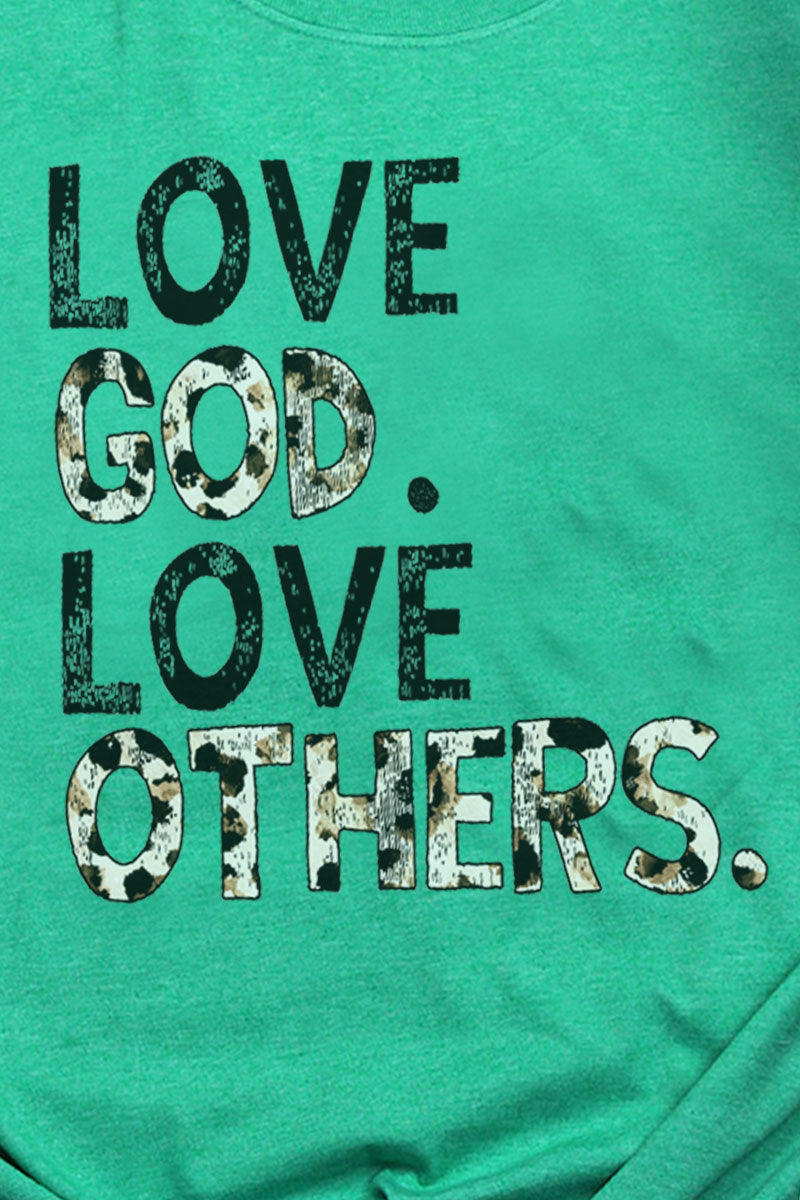 Love God Love Others Softstyle Adult T-Shirt
