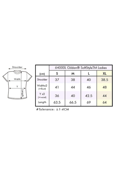Gildan Ladies Short Sleeve Fitted T-Shirt (PLEASE ALLOW 3-5 BUSINESS DAYS. EXPEDITED SHIPPING N/A) - Wholesale Accessory Market