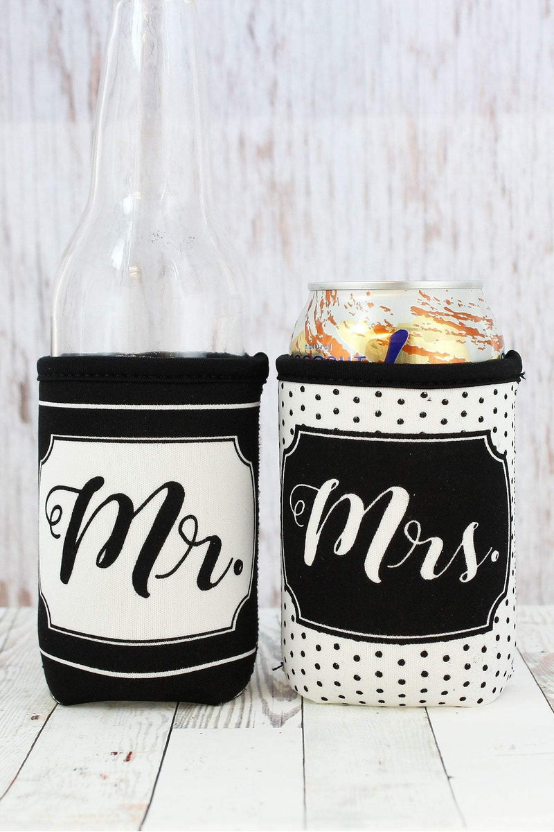 Mr. & Mrs. Pocket Drink Sleeve Set