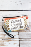 Better Place Zippered Pouch