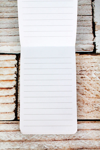 DISCONTINUED! Live The Life You Love Pocket Notepad