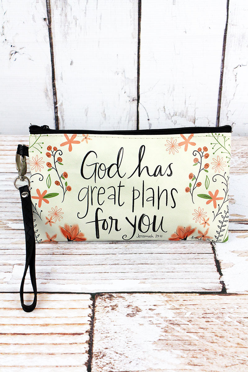 Great Plans Zippered Pouch