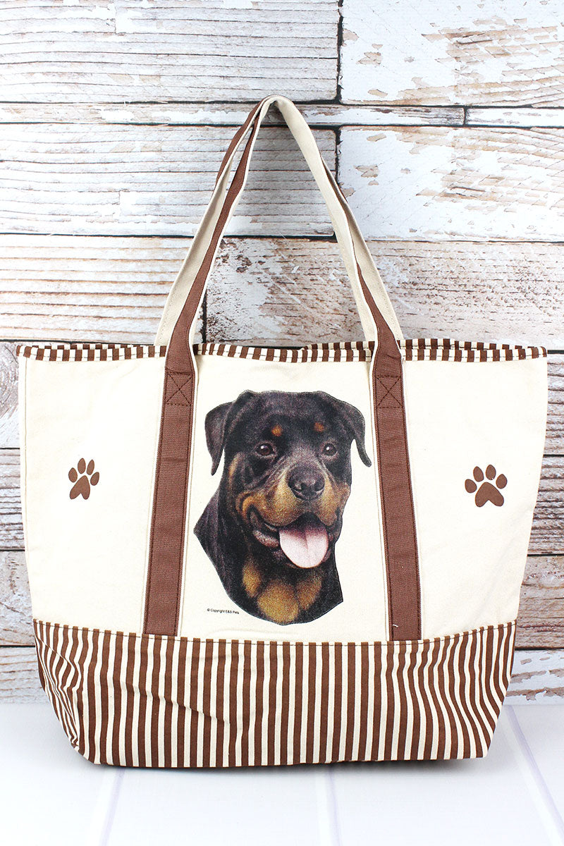 Rottweiler Canvas Tote Bag