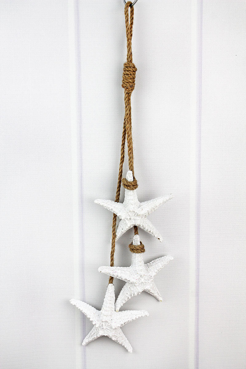 22 x 6 Resin Starfish Wall Decor