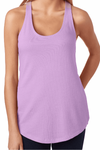 Resting Beach Face Racerback Terry Tank