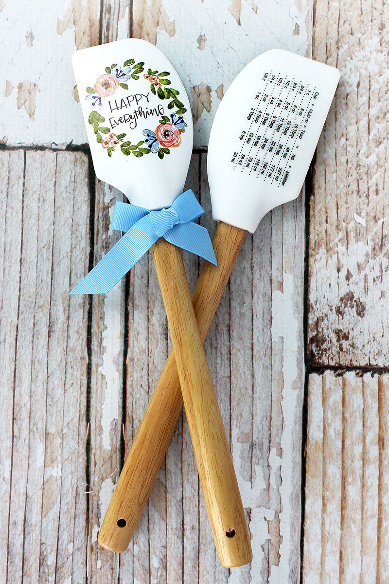 One Happy Everything Silicone Spatula