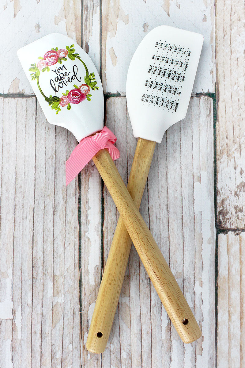 One You Are Loved Silicone Spatula