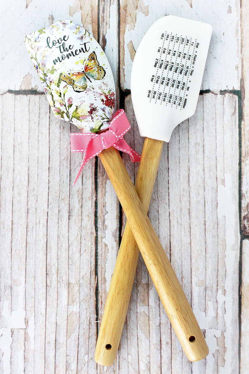 One Love The Moment Butterfly Silicone Spatula