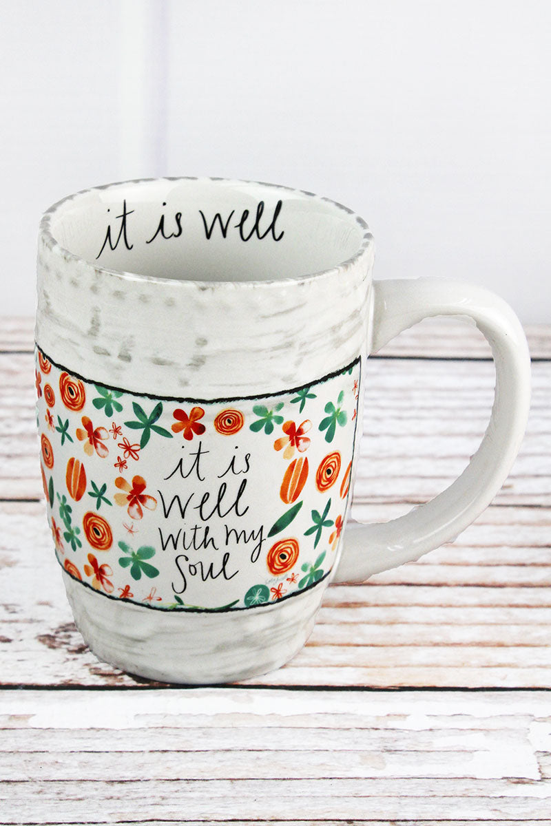 It Is Well With My Soul Simple Inspirations Ceramic Mug