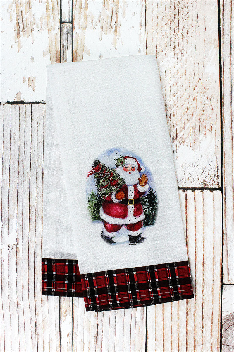 Santa Claus Tea Towel