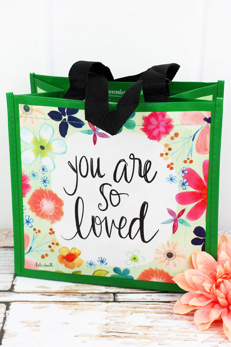 You Are So Loved Small Gift Tote