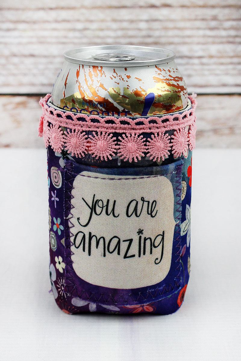 You Are Amazing Pocket Drink Sleeve