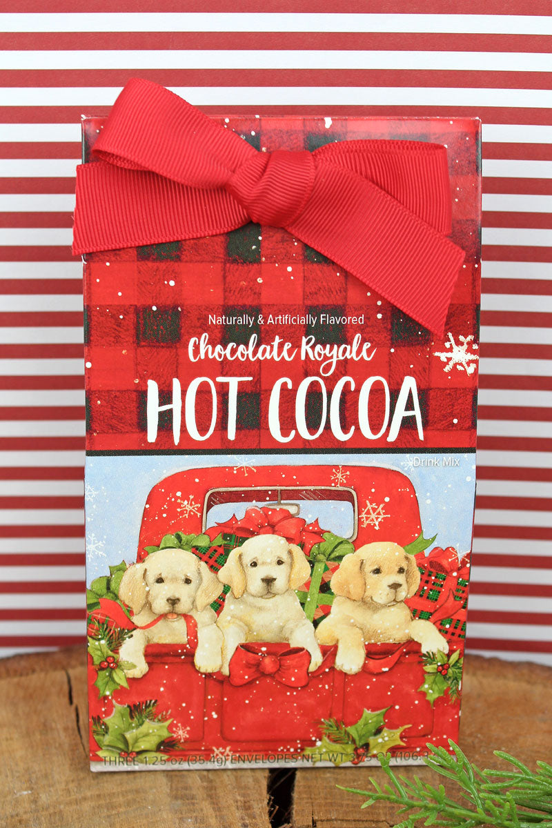 Christmas Puppies Chocolate Royale Hot Cocoa Mix