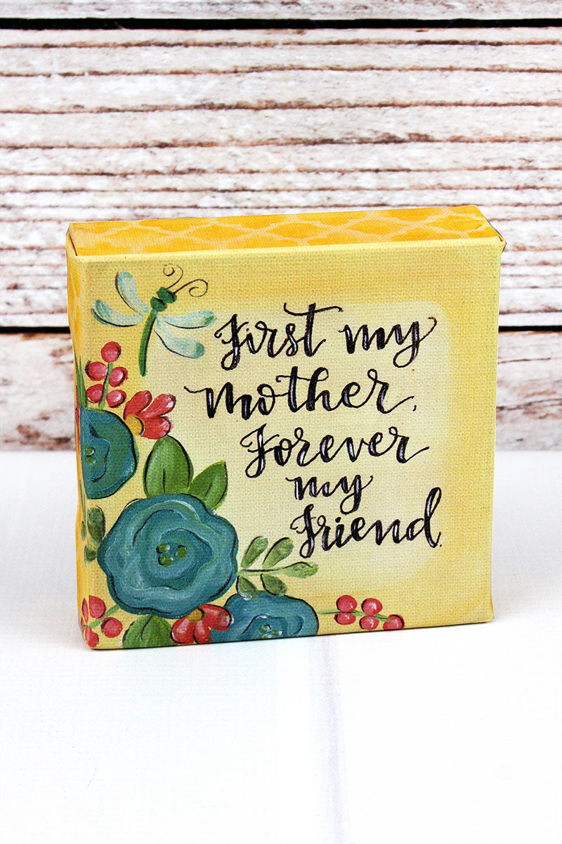 5 x 5 'My Mother' Canvas Sign