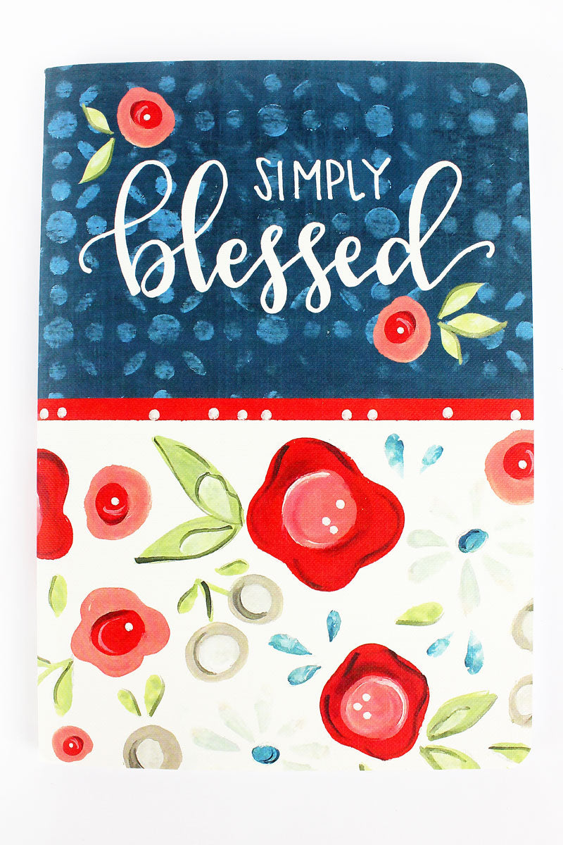 Simply Blessed Softcover Journal
