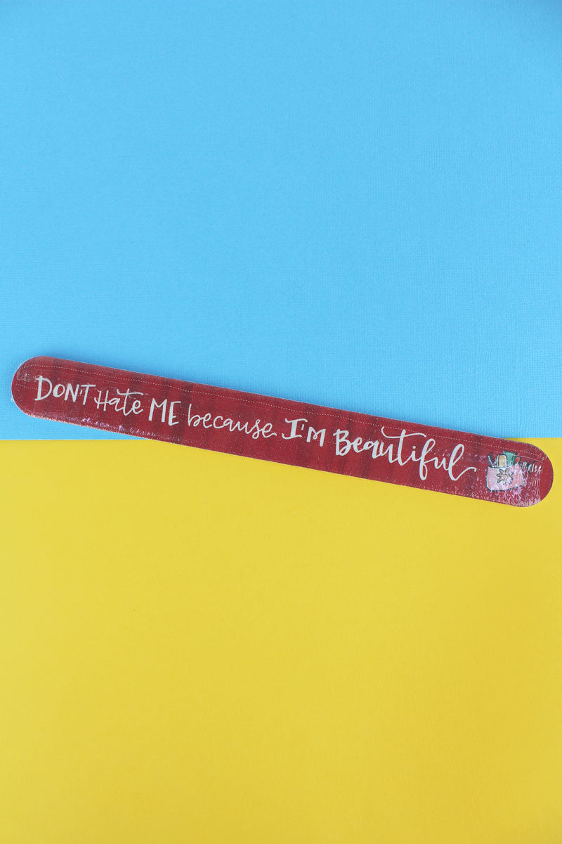 I'm Beautiful Simply Sassy Large Emery Board