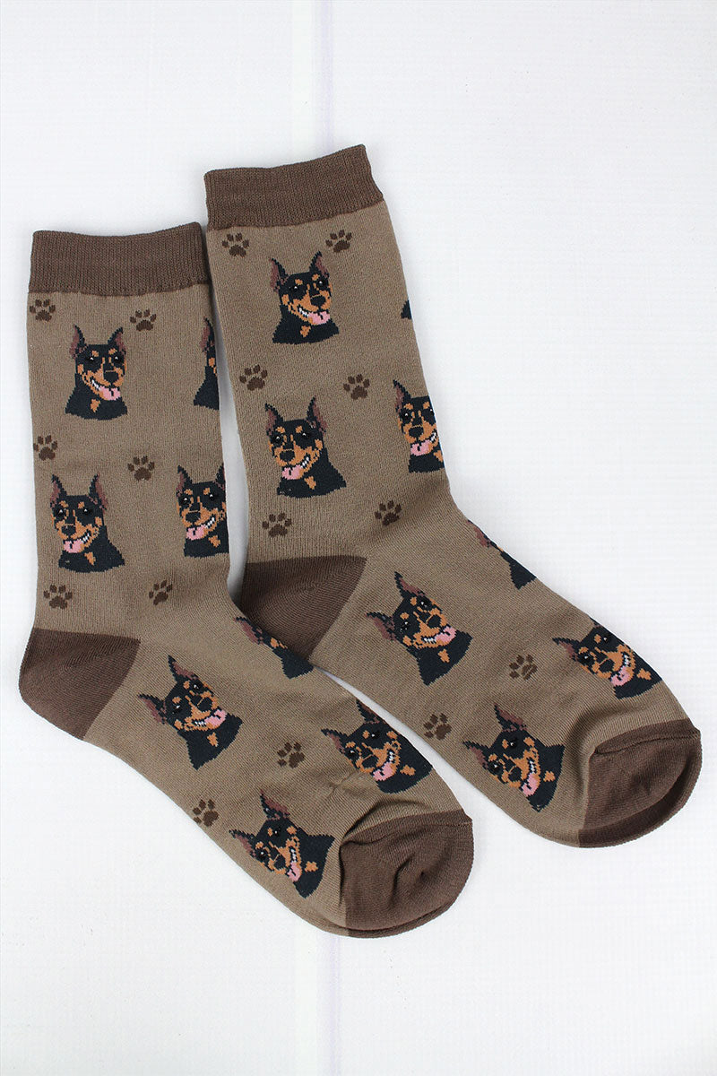 Doberman Socks