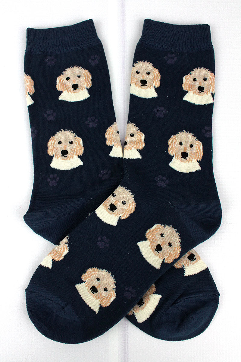 Goldendoodle Socks