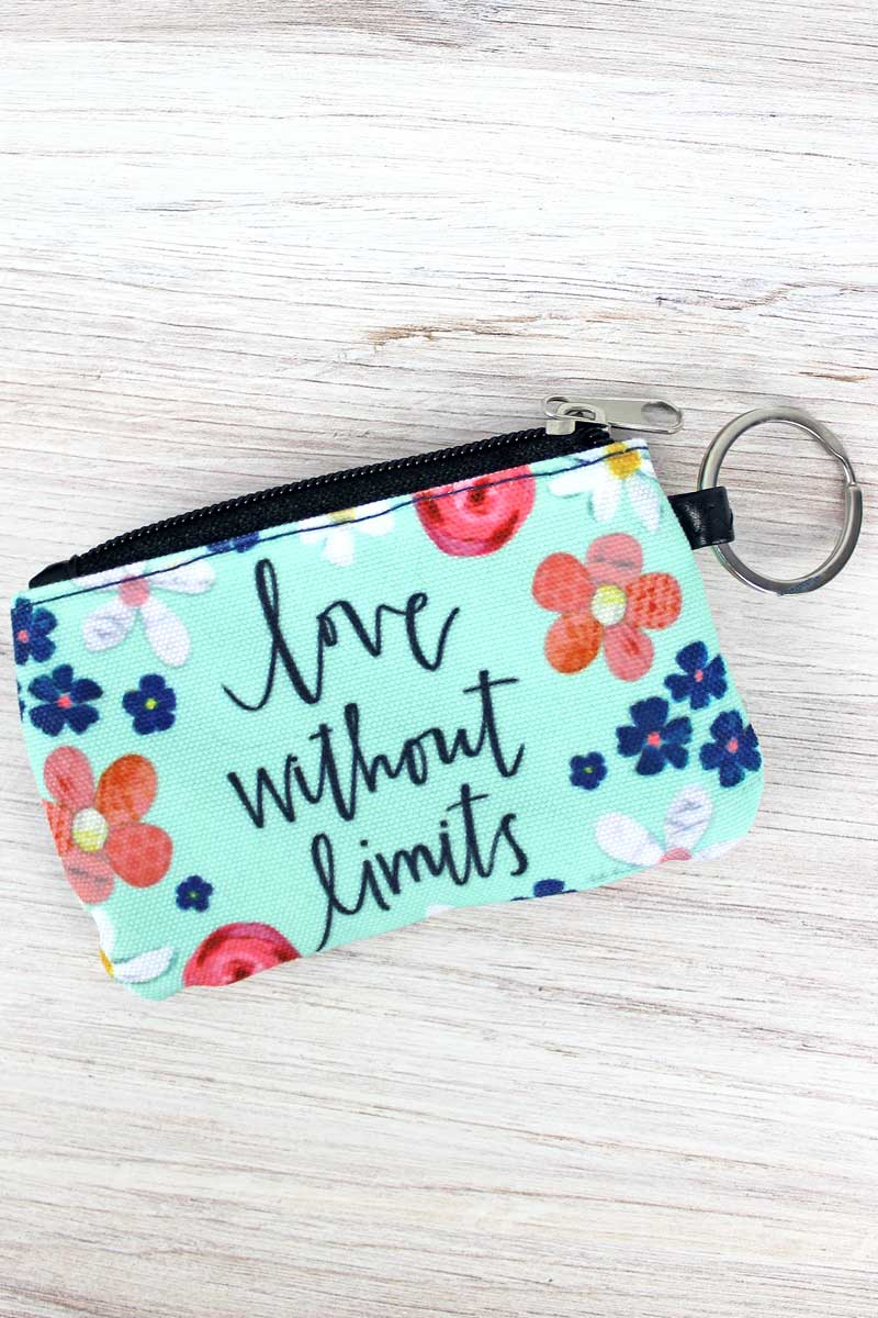 Love Without Limits ID Wallet Keychain