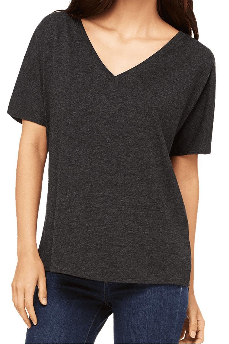 dce61fee Bella+Canvas Women's Slouchy V-Neck Tee #8815 | Wholesale Accessory ...