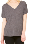 Bella+Canvas Women's Slouchy V-Neck Tee #8815