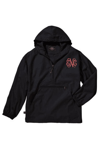 Charles River Youth Lightweight Rain Pullover, Black *Customizable! (Wholesale Pricing N/A)