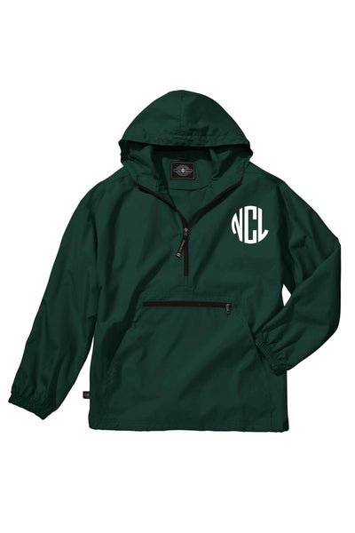 Charles River Youth Lightweight Rain Pullover, Forest *Customizable! (Wholesale Pricing N/A)