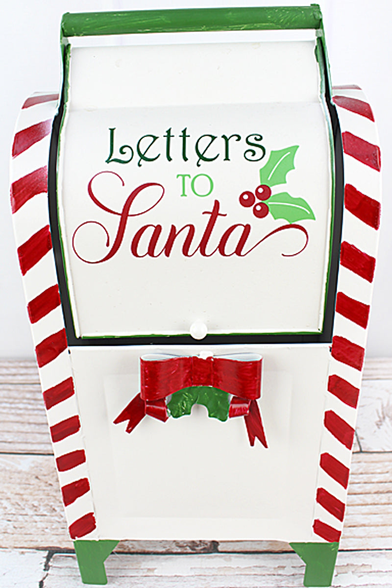 15.25 x 7.75 'Letters to Santa' Metal Mail Box