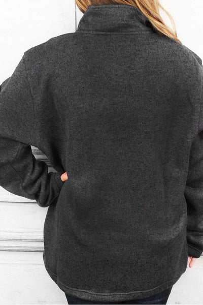 Charles River Heathered Fleece Pullover (Men's Cut), Charcoal Heather #9312 *Customizable! (Wholesale Pricing N/A.. PLEASE ALLOW 3-5 BUSINESS DAYS.. EXPEDITED SHIPPING N/A) - Wholesale Accessory Market