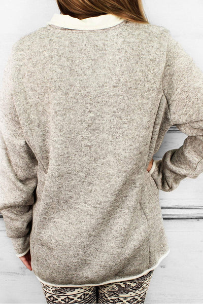Charles River Heathered Fleece Pullover (Men's Cut), Oatmeal Heather #9312 *Customizable! (Wholesale Pricing N/A.. PLEASE ALLOW 3-5 BUSINESS DAYS.. EXPEDITED SHIPPING N/A) - Wholesale Accessory Market