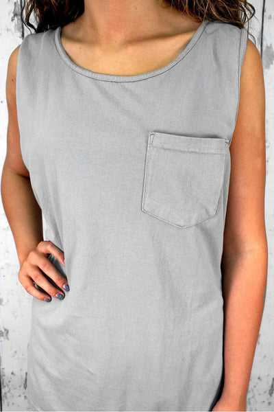 Comfort Colors Pocket Tank #9330
