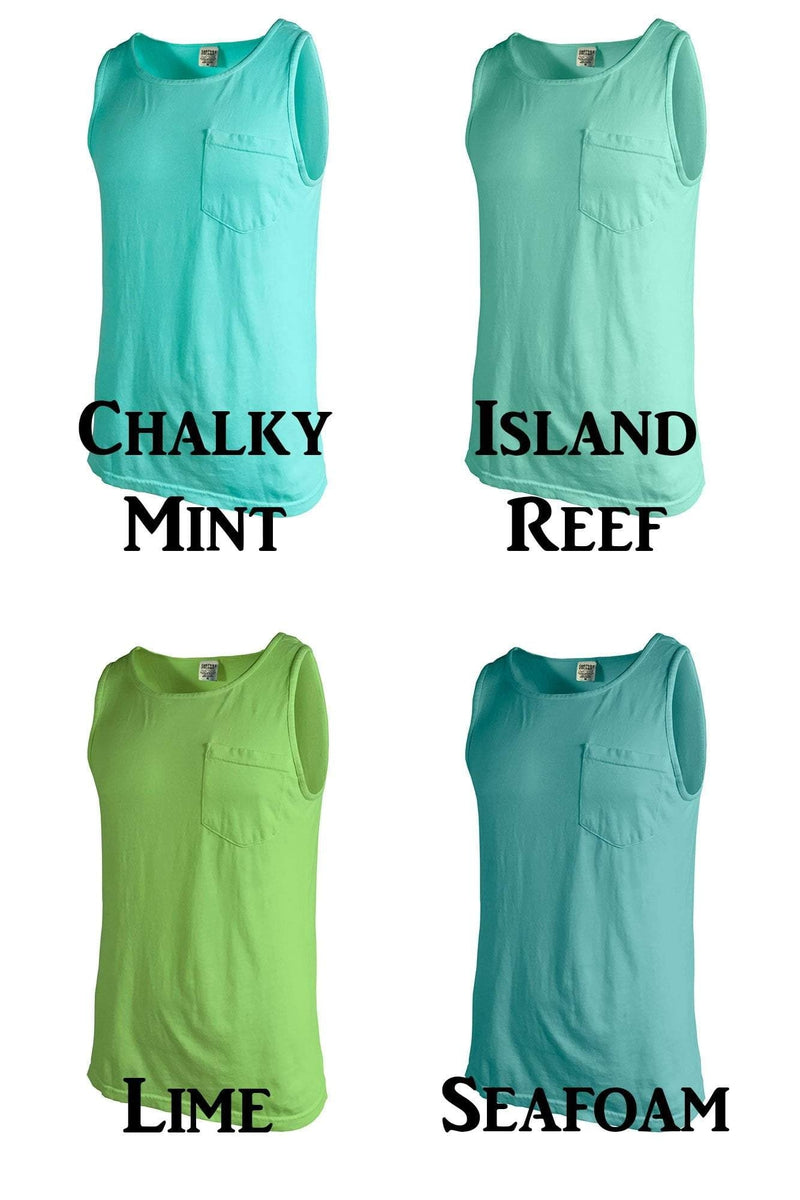 vacation color vacay market mode pineapple top etsy colors tanks tank comfort comforter il