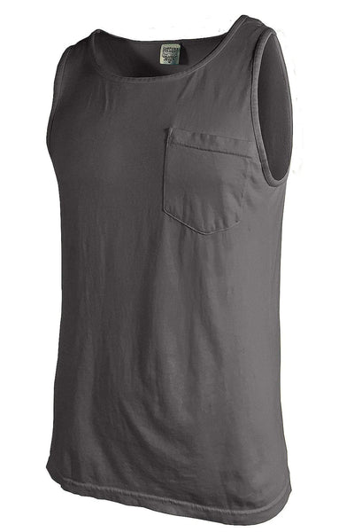 Shades of Neutral Comfort Colors Pocket Tank *Personalize It