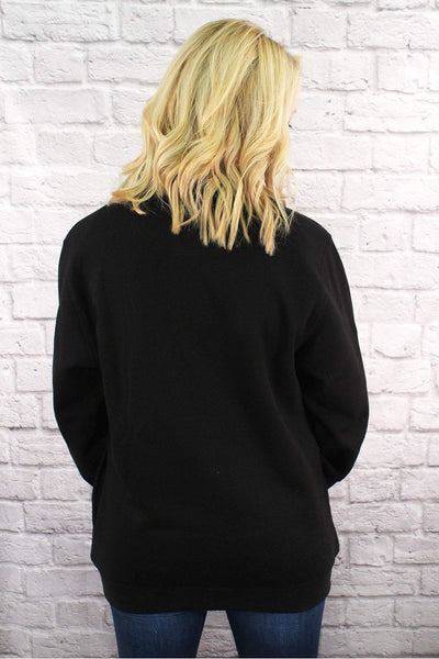 Charles River Quarter Zip Sweatshirt (Men's Cut), Black *Personalize It! (Wholesale Pricing N/A)
