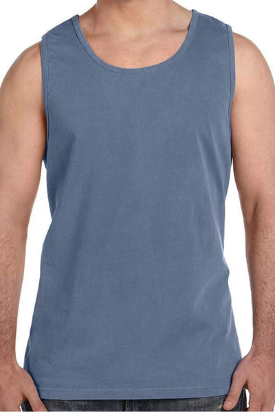 Shades of Blue Comfort Colors Cotton Tank Top *Personalize It